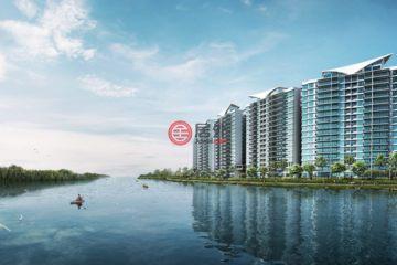 居外网在售新加坡3卧2卫新开发的房产总占地79平方米SGD 1,144,000