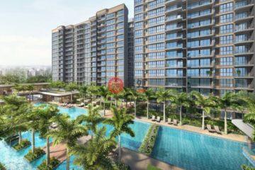 居外网在售新加坡1卧1卫新开发的房产总占地36811平方米SGD 591,000