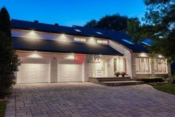 居外网在售加拿大4卧5卫最近整修过的房产总占地1115平方米CAD 1,388,000