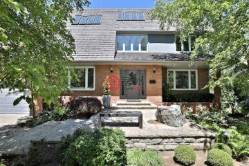 居外网在售加拿大5卧4卫曾经整修过的房产总占地304平方米CAD 1,980,000