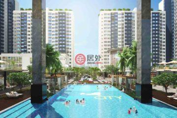 居外网在售越南2卧2卫新房的房产总占地85平方米USD 196,000