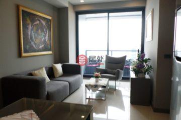 居外网在售泰国曼谷2卧2卫的房产总占地6平方米THB 12,500,000