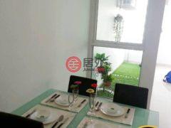 居外网在售马来西亚1卧1卫的公寓总占地61平方米MYR 668,000