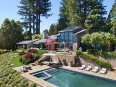 居外网在售美国圣克鲁斯5卧5卫的房产总占地604317平方米USD 20,000,000