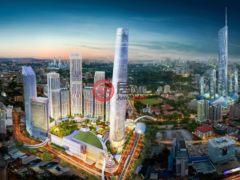 居外网在售马来西亚吉隆坡1卧1卫的房产总占地4545平方米MYR 864,000