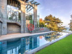 居外网在售瑞士杜利7卧12卫的房产总占地5711平方米
