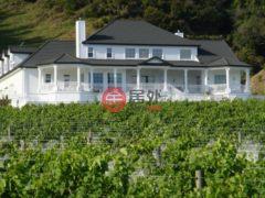 居外网在售新西兰Marlborough4卧5卫的房产总占地4275400平方米NZD 7,900,000