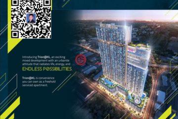 居外网在售马来西亚2卧2卫新开发的房产总占地78平方米MYR 720,000