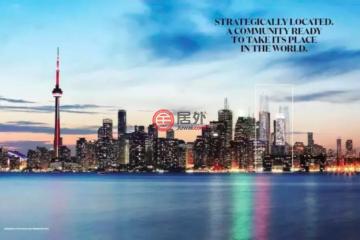 居外网在售加拿大多伦多的公寓总占地46平方米CAD 700,000