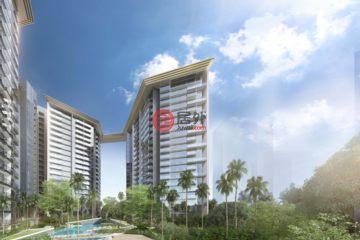 居外网在售新加坡3卧2卫新开发的公寓总占地19851平方米SGD 2,184,570