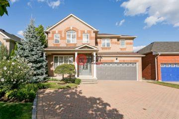 居外网在售加拿大奥克维尔4卧4卫的房产总占地193平方米CAD 1,195,800