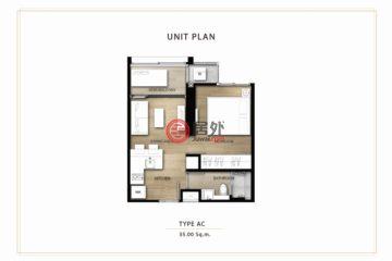 泰国曼谷的新建房产,Sukhumvit 101,编号44468708