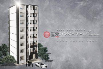 居外网在售日本大阪市1卧1卫的房产总占地25平方米JPY 22,500,000