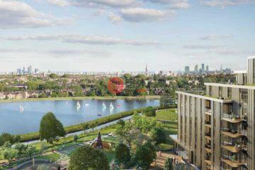 英国房产房价_英格兰房产房价_伦敦房产房价_居外网在售英国伦敦1卧1卫新房的房产总占地61平方米GBP 555,000
