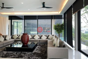 居外网在售马来西亚7卧6卫特别设计建筑的房产总占地1133平方米MYR 19,000,000
