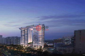 居外网在售新加坡2卧1卫新开发的房产总占地122平方米SGD 4,616,000