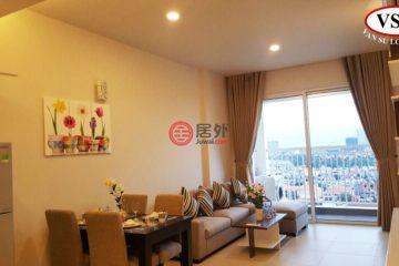 居外網在售越南Ho Chi Minh City2臥2衛的房產總占地145000平方米USD 700 / 月