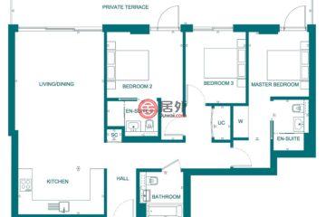 英国英格兰伦敦的新建房产,1 Lambeth High Street Lambeth, London SE1 7JN,编号45456308