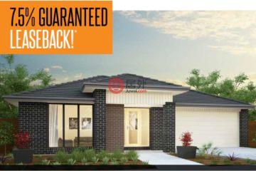 居外网在售澳大利亚4卧2卫新房的房产总占地50平方米AUD 795,000