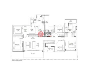 新加坡SingaporeSingapore的新建房产,Block 2 & 6 Irwell Hill,编号58476049