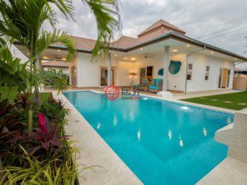 居外网在售泰国5卧的新建房产总占地1292平方米THB 6,950,000起