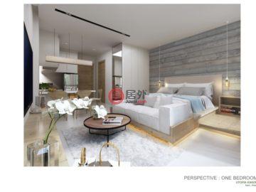 居外网在售泰国2卧新开发的新建房产总占地68平方米THB 4,000,000起