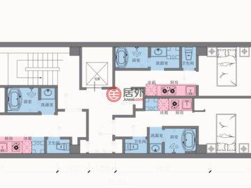 日本ōsaka-fu的新建房产,大阪市中央区瓦屋町1-14-16,编号50515739