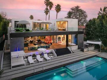 居外网在售美国洛杉矶6卧9卫的房产总占地1223平方米USD 22,900,000