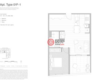 澳大利亚维多利亚州墨尔本的新建房产,253-273 Normanby Road,编号54982322