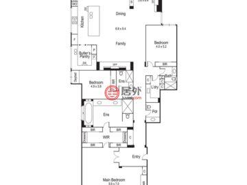 澳大利亚维多利亚州South Yarra的房产,Residence 2/256 Walsh Street,编号48547282