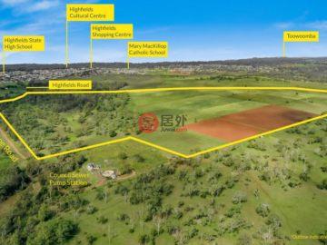 居外网在售澳大利亚Highfields总占地901316平方米的土地