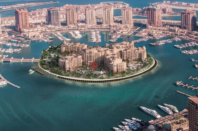 The Pearl Qatar新開發的新建房產