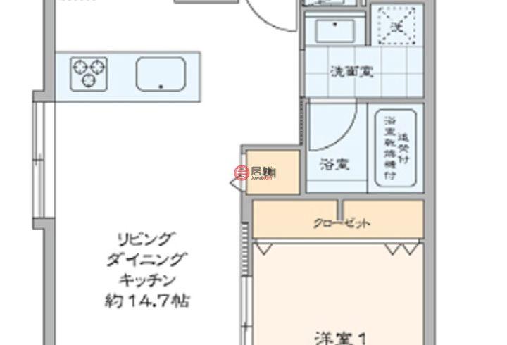 日本Tokyo Prefecture东京的房产,西惠比寿2,编号51352470