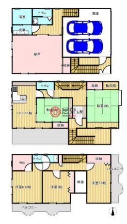日本大阪府大阪市的房产,生野区田島2丁目,编号56339100