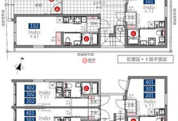 日本TokyoOta的商业地产,3-19-13,编号57246396