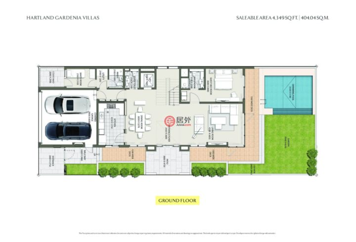 阿联酋迪拜迪拜的房产,Gardenia Villa At Sobha Hartland,编号47729528