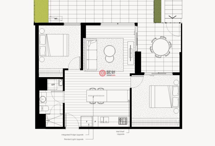 澳大利亚维多利亚州墨尔本的新建房产,78 Middleborough Road,编号56512822