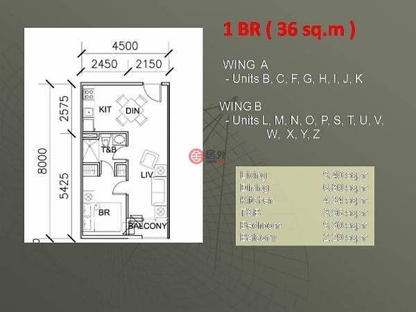 菲律宾National Capital RegionMakati的房产,7th Avenue corner 36th St,编号54934611