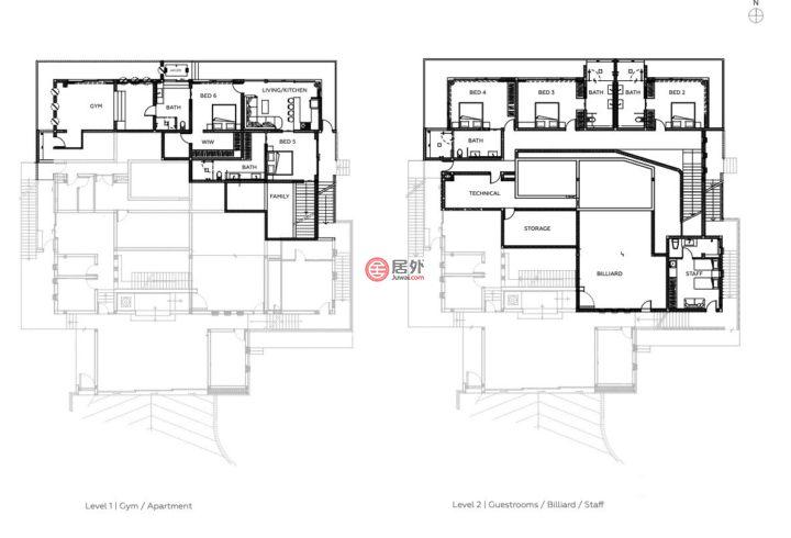 泰国素叻府苏梅岛的房产,Chaweng Noi,编号55960372