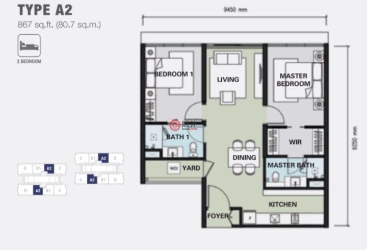 马来西亚的房产,jalan pinang,编号47586789