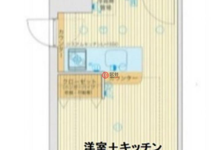 日本大阪府大阪市的公寓,内平野町3丁目2-15,编号59992938