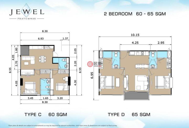 泰国春武里府春武里府的房产,The Jewel公寓,编号15469354