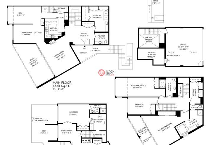 加拿大不列颠哥伦比亚省温哥华的房产,7353 Yew Street,编号54997686