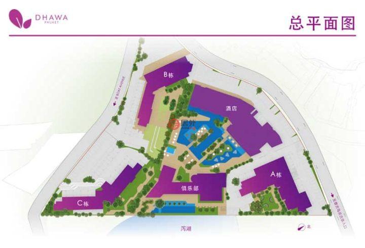 泰国普吉府普吉的房产,泰国普吉悦榕庄 悦苑dhawa Phuket 普吉岛时尚海景公寓,保证5%年收益托管5年,编号55469530