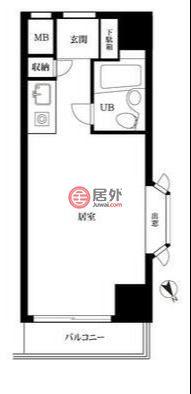 日本Tokyo Prefecture东京的公寓,中目黒1-9-22,编号57513515