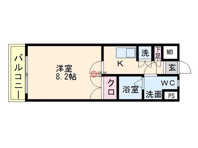 日本福岡県Fukuoka的房产,博多区,编号46313643
