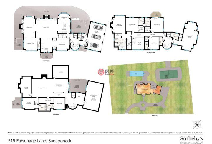 美国纽约州萨加波纳克的房产,515 Parsonage Lane,编号29864797