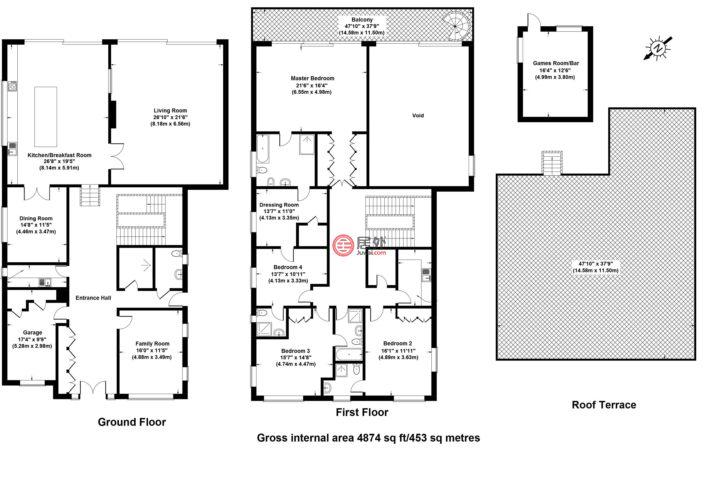 英国英格兰伦敦的房产,Whitelights Arkley Barnet,编号38879320